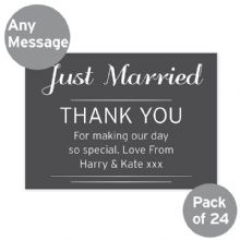 Classic Wedding Postcards Pack of 24